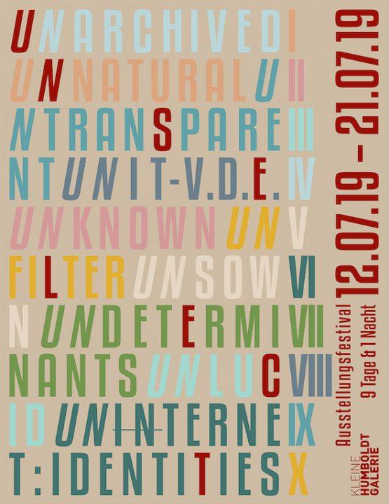 """Ausstellungsfestival """"unselect"""""""