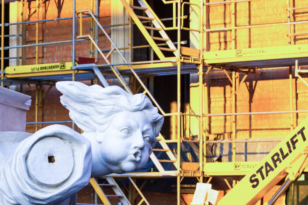 Richtfest des Berliner Schlosses: Empfang in das zukünftige Humboldt-Labor