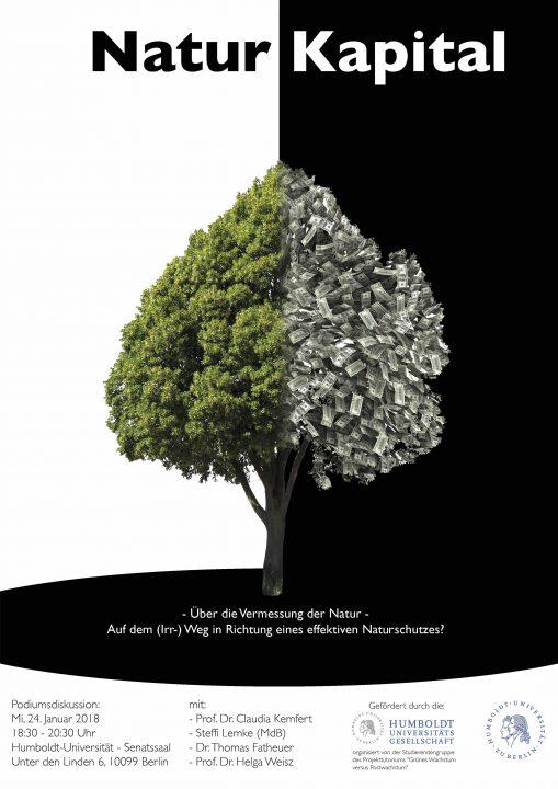 """Podiumsdiskussion """"Über die Vermessung der Natur"""""""