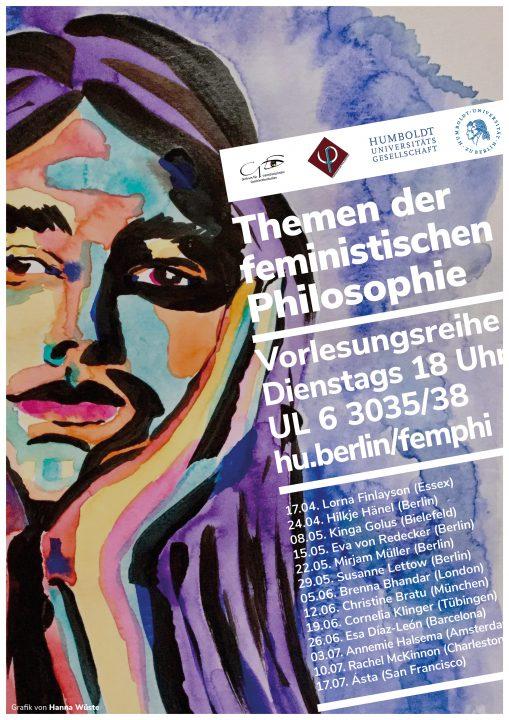 """Vorlesungsreihe """"Themen der Feministischen Philosophie"""""""